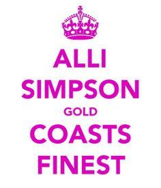Alli Simpson Gold Coasts Finest :)