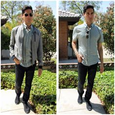 Checkmate Green #fashion #mensfashion #menswear #mensstyle #style #outfit #ootd