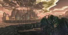 Fantasy, World, Glass, Painting, Art, Art Background, Drinkware, Corning Glass, Painting Art