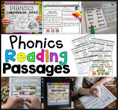Phonics reading passages help students improve their literacy development. Help your learners with these downloads of phonics-based reading passages.