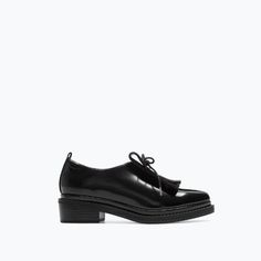 BLUCHER WITH FRINGES-Shoes-Woman-SHOES & BAGS | ZARA United States