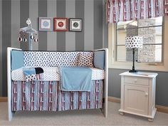 simple nursery room interior design