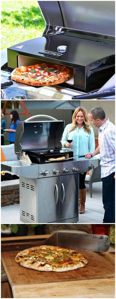 The BakerStone Pizza Box raises the temperature of outdoor grills to that of a real wood burning pizza oven letting you bake gourmet quality pizzas at home.