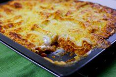 Vegetarisk lasagne med linser - ZEINAS KITCHEN