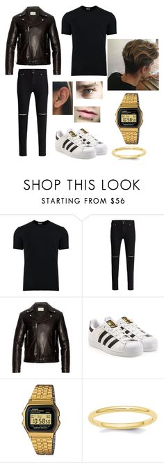 """""""J"""" by thebookoflife on Polyvore featuring Dolce&Gabbana, Gucci, adidas Originals, Casio, men's fashion and menswear"""
