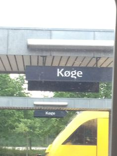 Køge Station in Køge, Region Sjælland