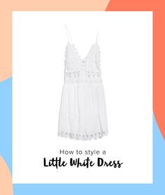 Save this to see how to style your favorite little white dress for any occasion all throughout fall.