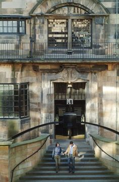 Mackintosh building at the ole GSA, or 'the Mac' as it's know to students
