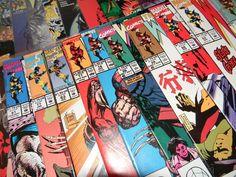 WOLVERINE Marvel Comics Book Mixed - Lot of 54 - Bianchi Loeb