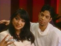 Prince and Mayte Garcia @P Park