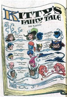 Uncanny X-Men #153: Kitty's Fairy Tale by Dave Cockrum