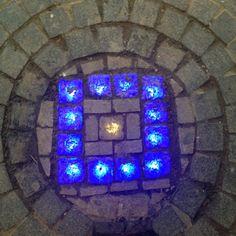 Glowing stones ., flooring