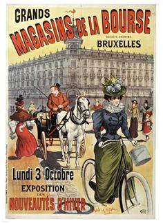 affiche innovation ouverture opening 1903 archives de la ville de bruxelles posters. Black Bedroom Furniture Sets. Home Design Ideas