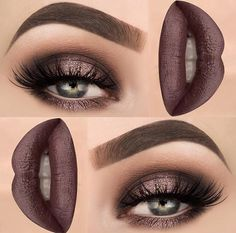 Metallic brown
