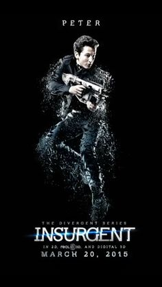 See All Eight 'Divergent Series: Insurgent' Character Posters, Including Shailene Woodley And Miles Teller Divergent Fandom, Divergent Trilogy, Divergent Insurgent Allegiant, Tfios, Veronica Roth, Ansel Elgort, Shailene Woodley, Theo James, Peter Divergent