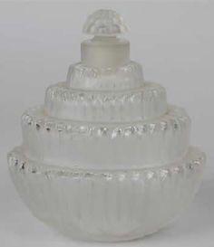 R. Lalique Perfume Bottle Ambroise