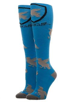 Show your love for Ravenclaw with the Harry Potter Ravenclaw Knee High socks. Harry Potter Sweater, Harry Potter Shop, Harry Potter Characters, Harry Potter Presents, High Knees, Character Costumes, Knee High Socks, Ravenclaw