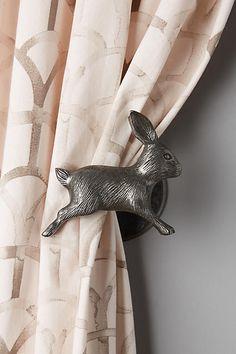 Curious Rabbit Tieback - anthropologie.com