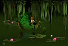Faerie Pond by David Griffin