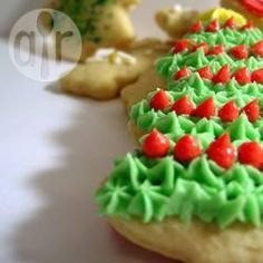 Photo de recette : Biscuits au sucre et leur délicieux glaçage