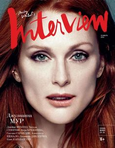 Julianne Moore for Interview Russia November 2014