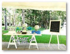 Mesa Bienvenida Boda Outdoor Furniture Sets, Outdoor Decor, Vintage Decor, Patio, Wedding Ideas, Decoration, Home Decor, Mesas, Events