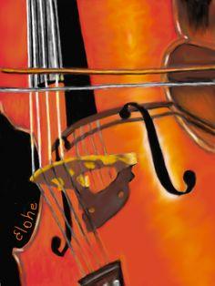 Chello; Art's choice of instrument. I love anyone who can play the chello!!! ahhh <3