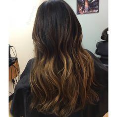 long bob haircut long layers inverted bob on dark hair