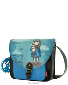 Gorjuss Saddle Bag - Hush Little Bunny