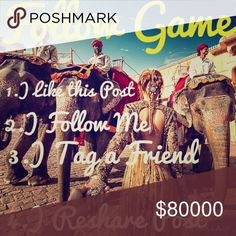 🦄Follow💐Share🤗Like👍 ✨Do you want more followers? Like this listing, follow those who liked it, and share it so more people can see it! Follow games are a fun and great way to gain followers and find more lovely closets to browse! Tag your friends in the comments so they can build their followers as well. 🌟 Other