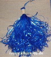 Pompons für Cheerleader basteln
