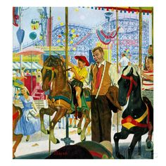 "earl mayan | ... "", August 9, 1958 Giclee Print by Earl Mayan - AllPosters.co.uk"