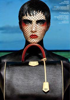 nice V Magazine #91 Fall 2014 | Daria Strokous por François Nars  [Editorial]