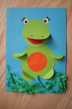origami żaba