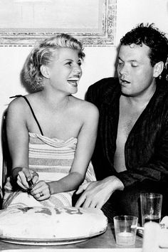 Rita Hayworth and Orson Welles, 1946