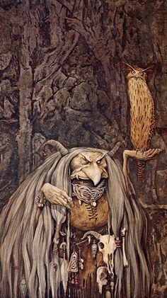Brian Froud #fantasia #ilustracion #arte #dibujo