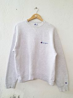 Christian Oliver crewneck sweatshirt embroidery big spel out logo pullover / fashion style / Streetwear / small large size k9Kwor9GpB