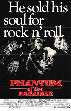 The Phantom of the Paradise #movie #poster (1974)