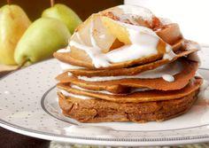 Pumpkin ginger Bread Pancakes