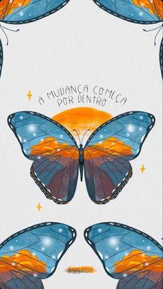 Tumblr Wallpaper, Iphone Wallpaper, Xiaomi Wallpapers, Positive Words, Beautiful Butterflies, Greys Anatomy, Good Vibes, Aesthetic Wallpapers, Illustration Art