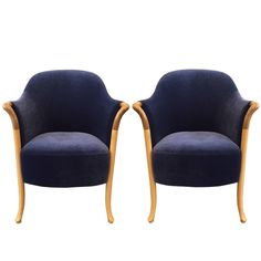 Pair of Giorgetti Progetti Armchairs   From a unique collection of antique and modern armchairs at https://www.1stdibs.com/furniture/seating/armchairs/