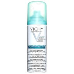 Vichy Deodorant 48Hour Aerosol 'No Marks' Anti-Perspirant 125ml (€6,95) ❤ liked on Polyvore featuring beauty products, bath & body products, deodorant, vichy deodorant and vichy