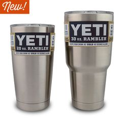 Rambler 20 & 30 Tumblers: The first Yeti products I can afford!