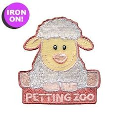 Petting Zoo Fun Patch. Just $.69. PatchFun.com has all of our cute Girl Scout Fun Patches
