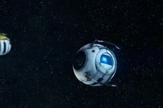I think Wheatley sneezed (can you even sneeze in space?) <--More importantly, can you even sneeze as a robot?