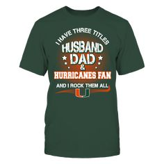 Miami Hurricanes - Three Titles Front picture
