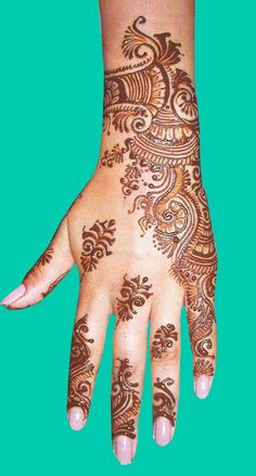 Mehndi style: Latest Indian Mehndi Designs 2012