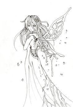 Yuki lineart by Villo16 on DeviantArt