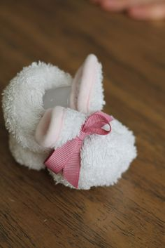 Boo Boo Bunny....made these with my 10 year old granddaughter.  She was so proud!