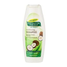 Palmers Coconut Oil Formula Conditioning Shampoo Plamers Coconut Oil Formula Conditioning Shampoo Palmers Coconut Oil Formula Conditioning Shampoo, a rich, creamy shampoo, gently cleanses and removes buildup without stripping hair or interrupting it http://www.MightGet.com/january-2017-12/palmers-coconut-oil-formula-conditioning-shampoo.asp